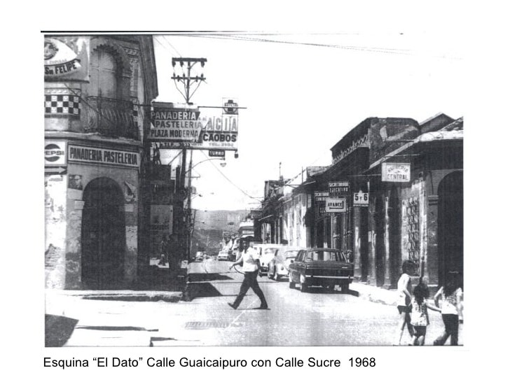 Calle Guaicaipuro Los Teques